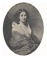 Sofia Gagarina, c.1850, winterhalter