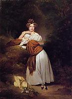 Sophie Guillemette, Grand Duchess of Baden, 1831, winterhalter