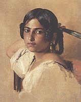 Study of Itlain girl, 1834, winterhalter