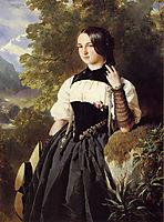 A Swiss Girl from Interlaken, winterhalter