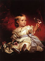 Victoria, Princess Royal, 1842, winterhalter