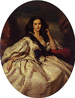 Wienczyslawa Barczewska, Madame de Jurjewicz, 1860, winterhalter