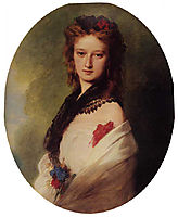 Zofia Potocka, Countess Zamoyska, 1870, winterhalter