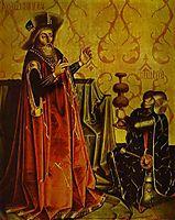 Abishai Kneeling before David, c.1435, witz