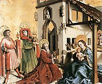 The Adoration of the Magi, c.1444, witz