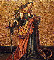 St. Catherine Of Alexandria, witz