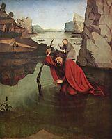 St. Christopher, c.1435, witz