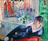 Afternoon in Amsterdam, 1915, wouters