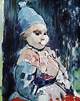 Baby with blue cap, 1911, wouters
