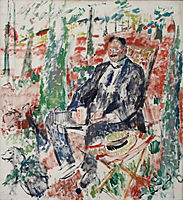 Man with Straw Hat, 1913, wouters