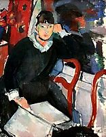 Seated woman, 1915, wouters