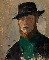 Self-portrait, 1908, wouters