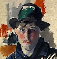 Self-portrait, 1915, wouters