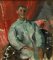 Self-portrait with Black Bandage, 1915, wouters