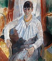 Woman in White, 1915, wouters