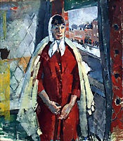 Woman at the Window, 1915, wouters