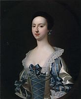 Anne Bateman, later Mrs. John Gisbourne, 1755, wright