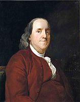 Benjamin Franklin, 1782, wright