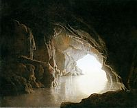 A Cavern, Evening, 1774, wright