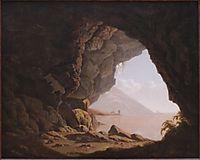 Cavern, Near Naples, 1774, wright