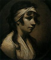Harriet Wright, the Artist-s Daughter, c.1793, wright