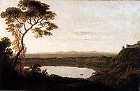 Lake Albano, c.1792, wright