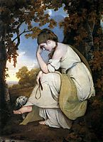 Maria, from Sterne, a Companion to the Picture of Edwin, 1781, wright