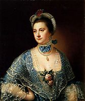 Mrs. Andrew Lindington, c.1762, wright