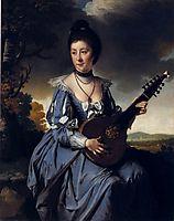Mrs. Robert Gwillym, 1766, wright