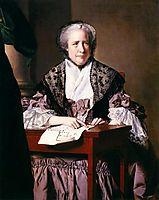 Mrs. Sarah Clayton, c.1769, wright