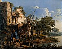 The Old Man and Death, 1774, wright