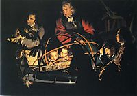 The Orrery, 1766, wright
