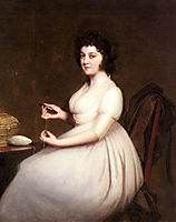 Portrait of Mrs.Abney, wright