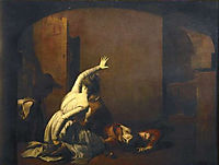 Romeo and Juliet: The Tomb Scene, -Noise again! then I-ll be brief-, 1790, wright