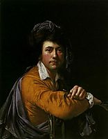 Self Portrait at the age of about Forty, c.1773, wright