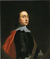 Self-Portrait at the Age of about Twenty, c.1753, wright