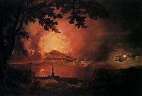 Vesuvius in Eruption, c.1780, wright