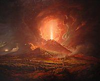 Vesuvius from Portici, wright