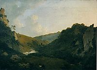 View in Dovedale, 1786, wright