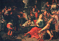 Adoration by the Shepherds, wtewael