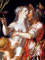 Aphrodite Ares and Eros Sun, wtewael