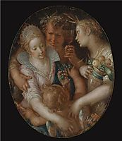 Bacchus between Ceres and Venus, wtewael