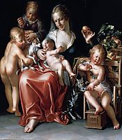 Charity, 1627, wtewael