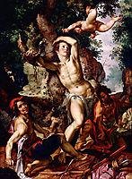 Martyrdom of St. Sebastian, 1600, wtewael