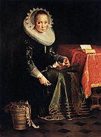 Portrait of Eva Wtewael, 1628, wtewael