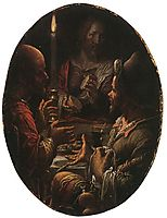 Supper at Emmaus, wtewael