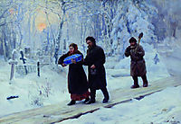 Funeral of Firstborn, 1893, yaroshenko