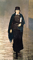 Girl student, 1880, yaroshenko