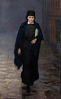 Girl student, 1883, yaroshenko