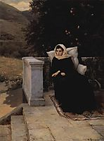 In the warm land, 1890, yaroshenko
